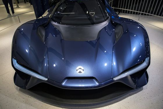 Tencent-Backed Electric Car Startup NIO Is Said to File for IPO