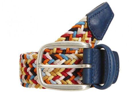 Step Aside, Crazy Socks. Colorful Men's Belts Have Gone Mainstream