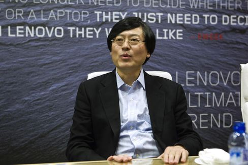 Lenovo Group CEO Yang Yuanqing