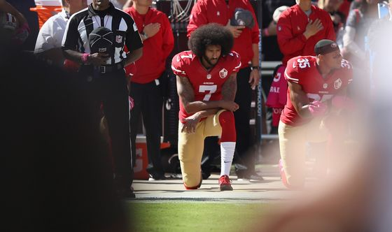 Trump Says Nike Getting 'Absolutely Killed' for Kaepernick Ad