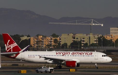 Virgin America Files for Proposed U.S. Initial Share Sale