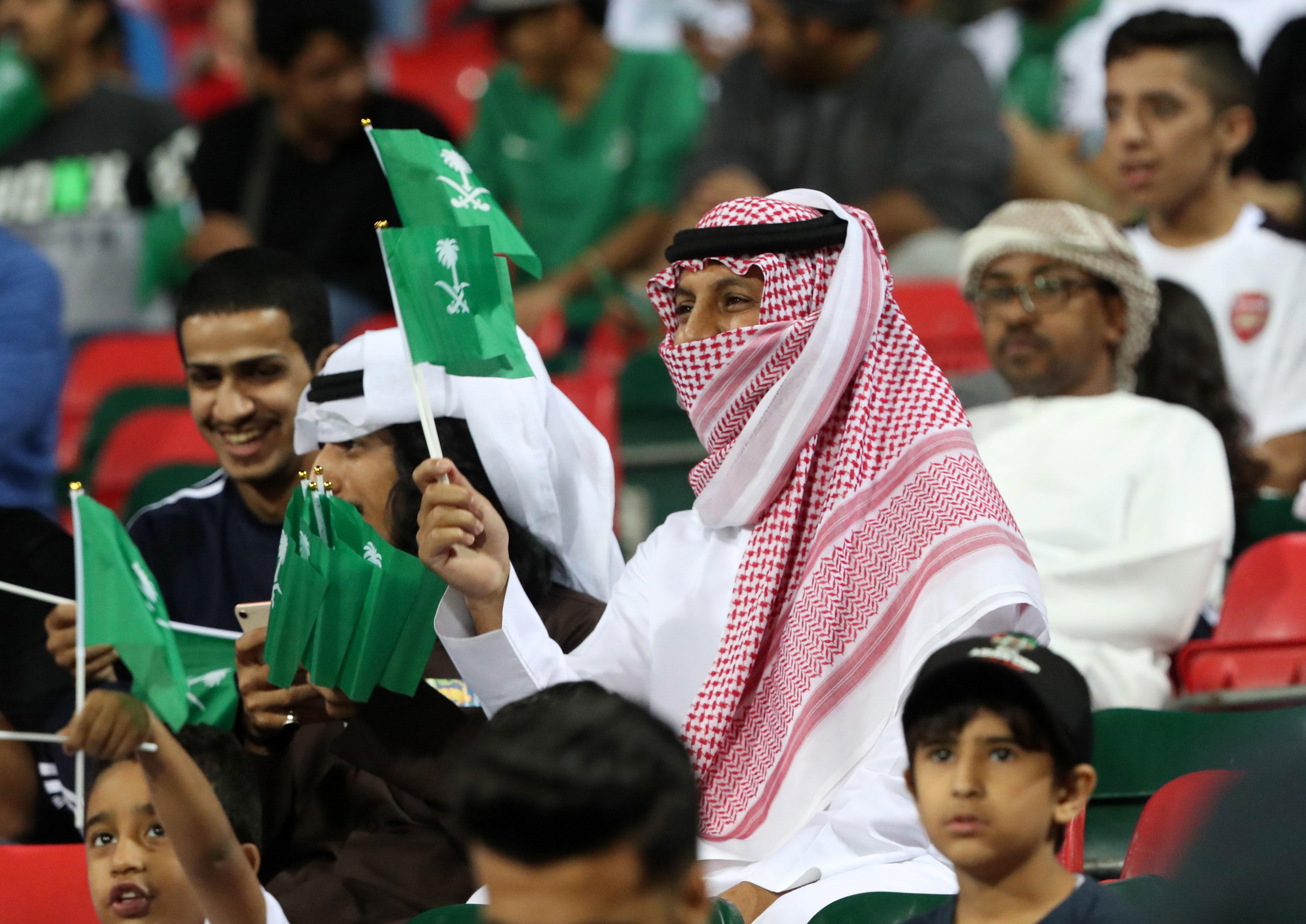 Saudi Arabia vs  Qatar Moves to the Soccer Field - Bloomberg