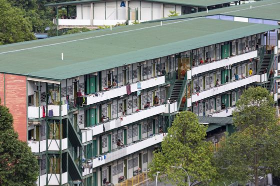 More Virus Clusters Appear in Cleared Singapore Worker Dorms