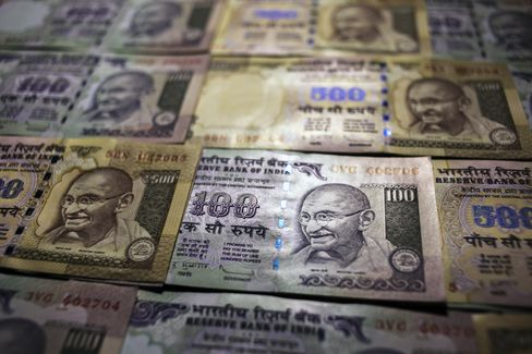 Rupee Plunge Risks Economic Nosedive for India, Billionaire Says