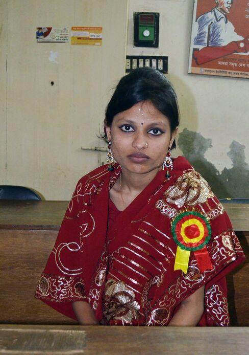 Garment Worker Tanjila Begum