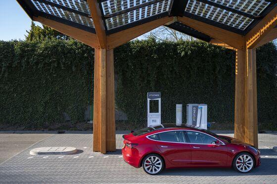Tesla Model 3 Sales Jump In Germany, Narrowingthe Gap With Porsche