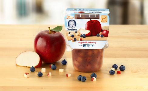 Gerber's New 3rd Food Lil' Bits