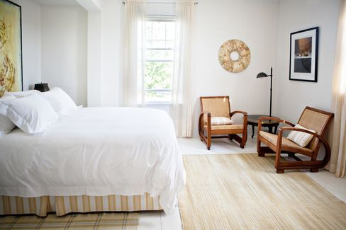 The modern B&B look comes to life at Chebeague Island Inn.