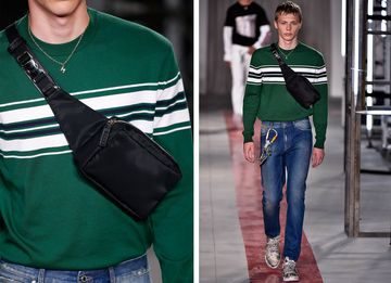 Real Ferragamo Belt >> Fashion Fanny Packs: A Bad Nineties Trend Is Coming Back for Real - Bloomberg