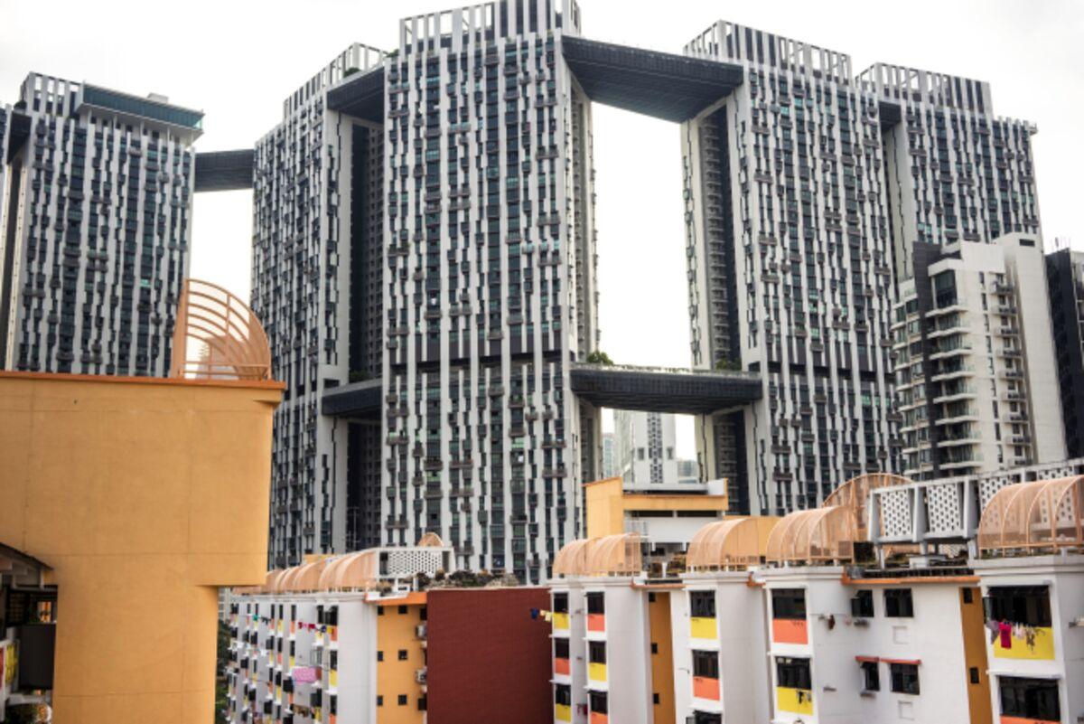 Singapore S Public Housing Envy Of World Hits Rough Patch