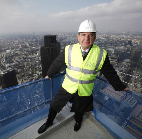 Heron said to secure first tenant for London skyscraper