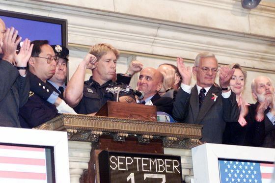 Trump Says Grasso Opened NYSE the Day After 9/11. He Didn't.