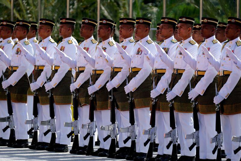 马来西亚任命新苏丹的誓言仪式
