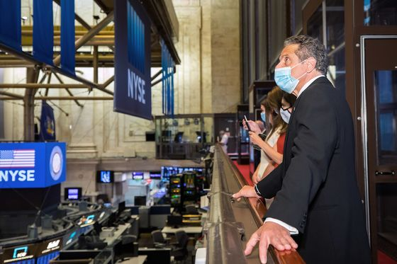 Wall Street Frets Over Its Clout as 'Champion' Cuomo Exits