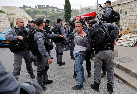 Israel Seals Jerusalem Holy Site After a Firebomb Is Thrown
