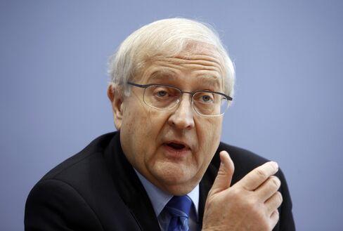 Germany's Economy Minister Rainer Bruederle