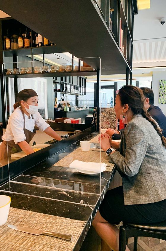 A Post-Lockdown Preview of the Future of High-End Restaurants