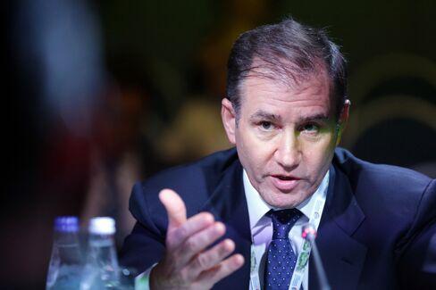 Glencore International Plc CEO Ivan Glasenberg