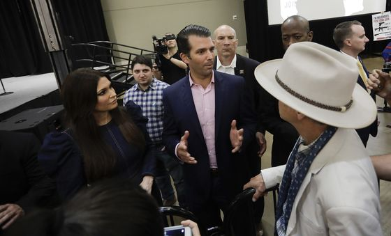 Trump Jr. Hits the Trail for GOP, Raising Dollars and Attention