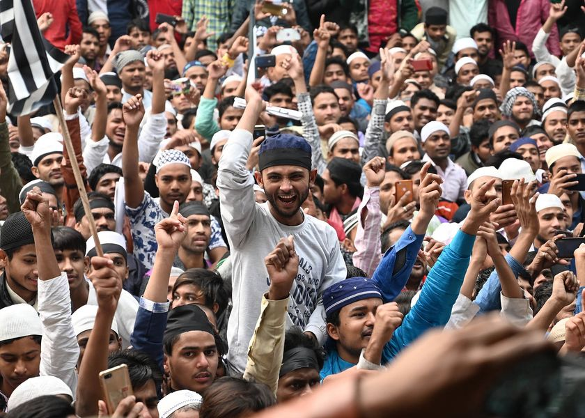 INDIA-POLITICS-UNREST