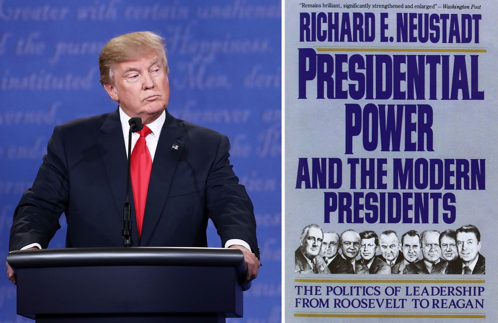 richard neustadt presidential power thesis