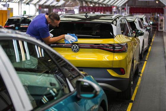 VW CEO Says Existential Electric Race Awaits After Pandemic