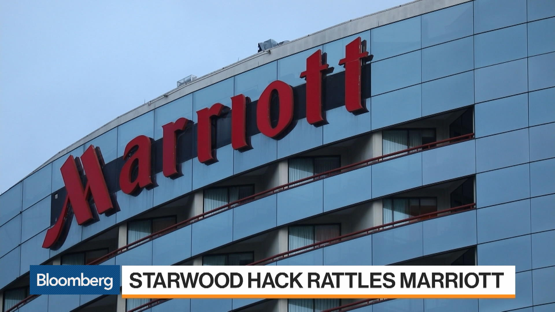 Marriott Hit by Starwood Hack That Ranks Among Biggest Ever - Bloomberg