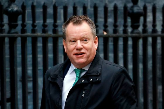 Brexit Negotiator Frost Joins Johnson's Team With EU Focus