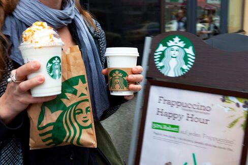 Risking Pastry Sales, Starbucks Expands Menu Calorie Counts Nationwide