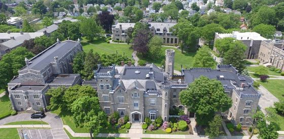 For Sale: College Campus, Convenient to New York City, Castle Included