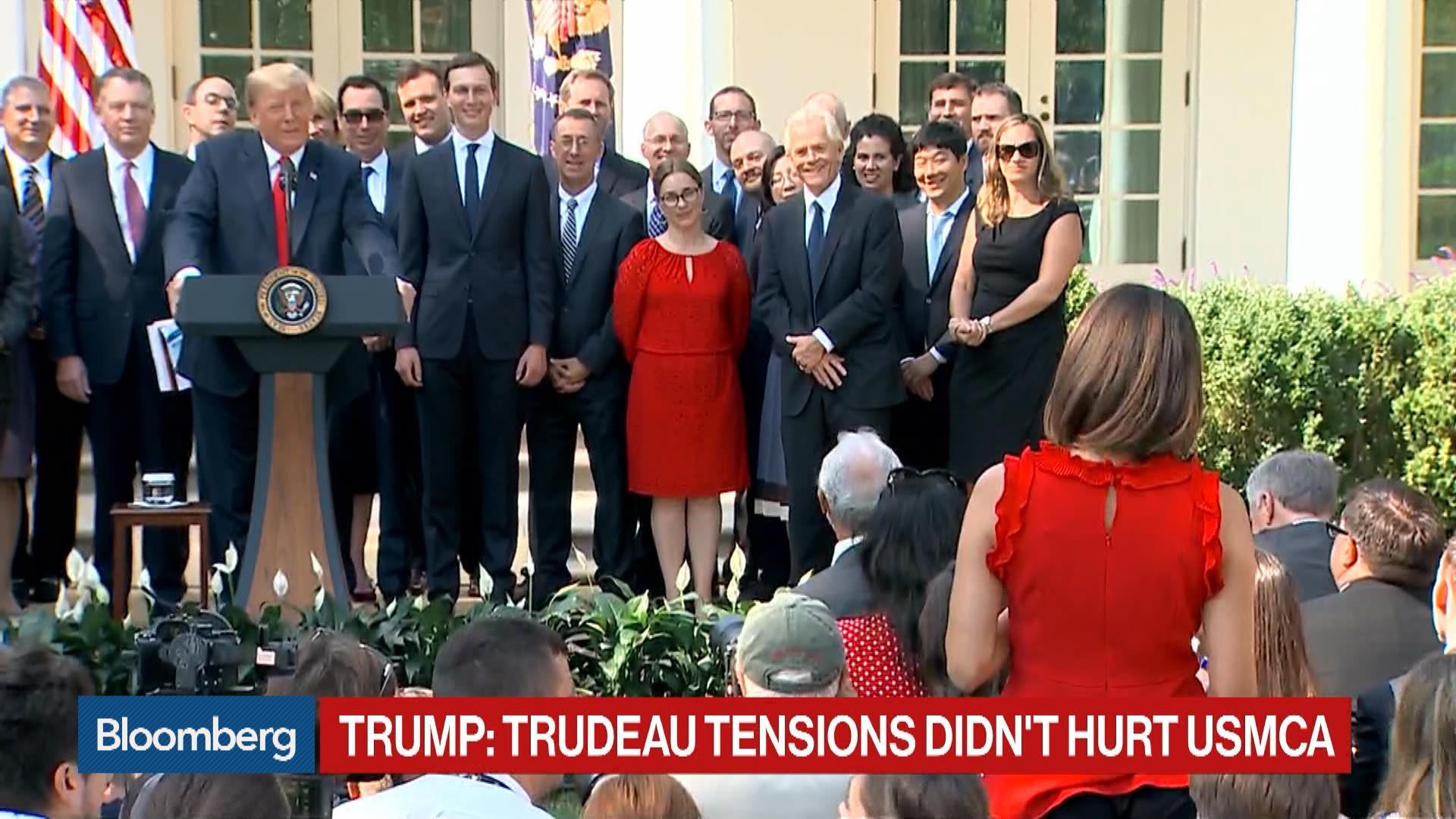 Trump Insults ABC Reporter Cecilia Vega: She 'Never' Thinks - Bloomberg