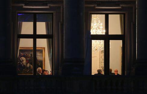 Chancellor Angela Merkel Negotiations in Berlin