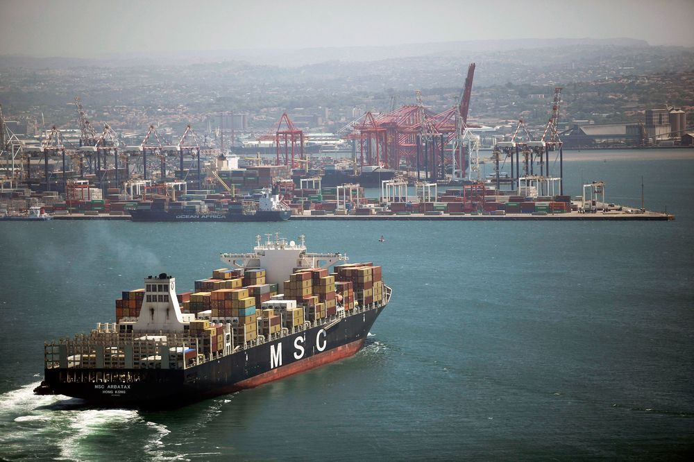 South African Trade Gap Narrows as Lower Oil Curbs Imports