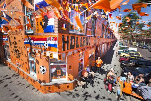 Dutch Banners And Bunting