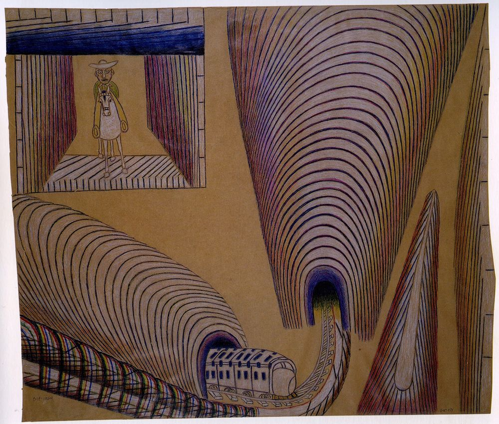 Wealthy Outsider Artist With >> Outsider Art Goes Mainstream Bloomberg