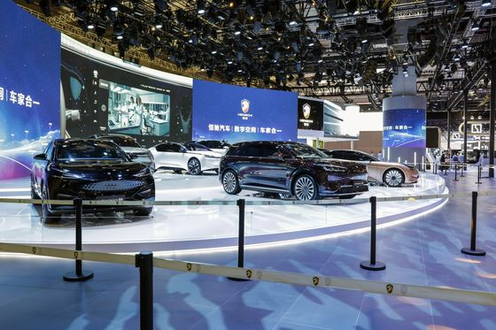 China Tech Giants Bet $19 Billion on Global Electric Car Frenzy