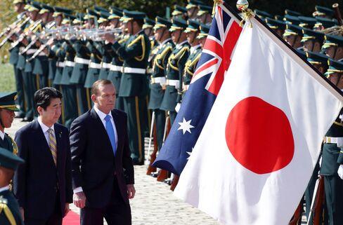 Shinzo Abe and Tony Abbott