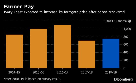 African Cocoa Harvest Begins With Test for World's Top Producers