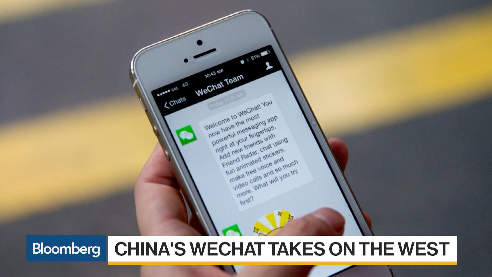 China's WeChat Takes on the West
