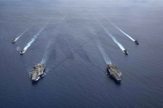 U.S. Shift in South China Sea Raises Risk of Clash on the Water