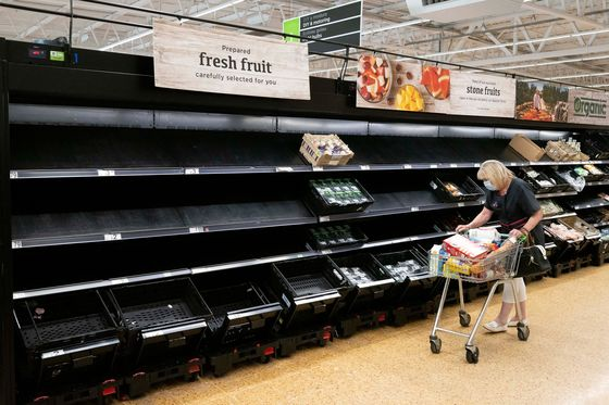 Your Food Prices Are at Risk as the World Runs Short of Workers