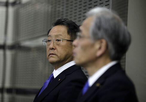 トヨタ社長の決算会見