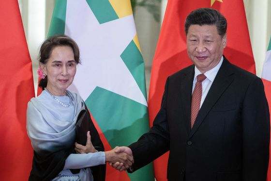 Xi Courts an Isolated Myanmar in First State Visit of the Year