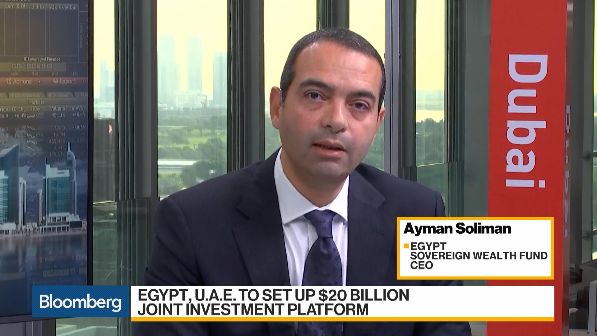 Egypt Sovereign Wealth Fund CEO Likes Food, Infrastructure, Logistic Stocks