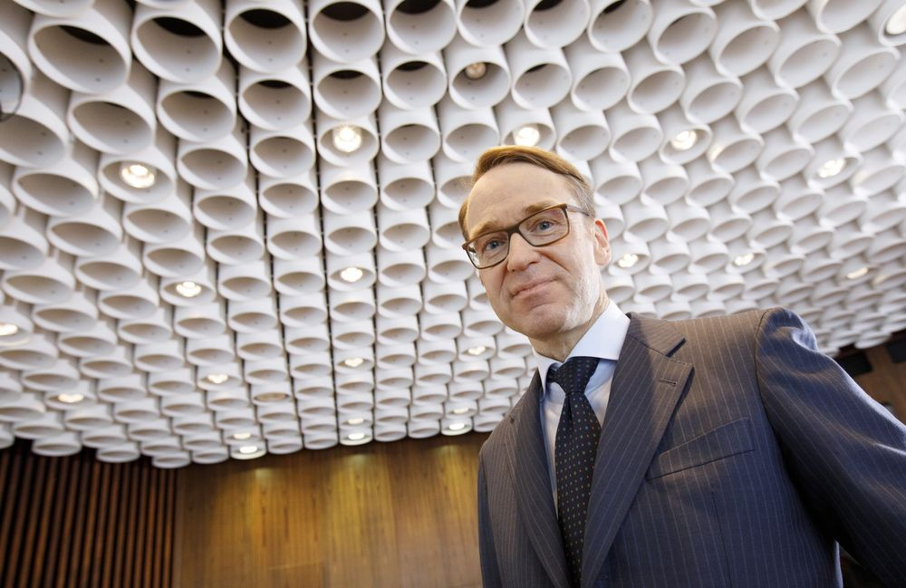 ECB's Weidmann Sees No New Stimulus Need Amid Price Pressure