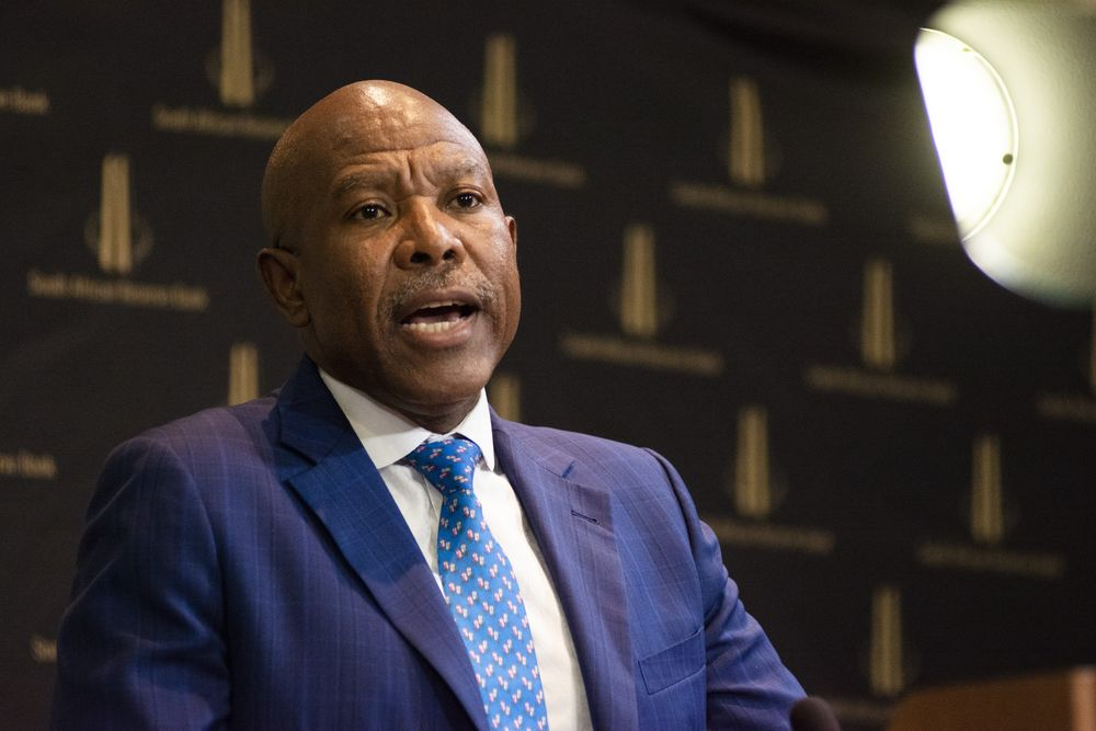 S. Africa's Kganyago Says Model Shows May Be Room for Rate Cuts