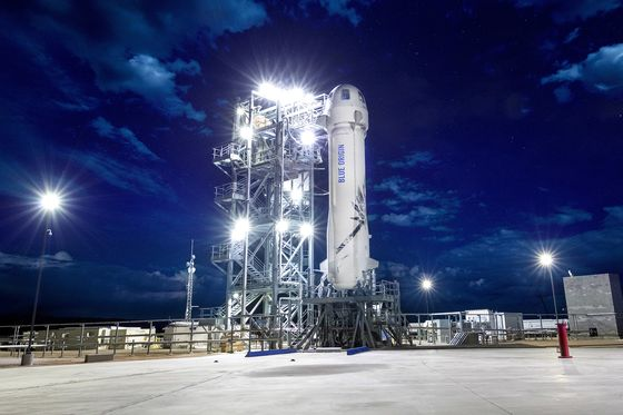 A Seat on Bezos's Rocket Is Going for $2.2 Million and Counting