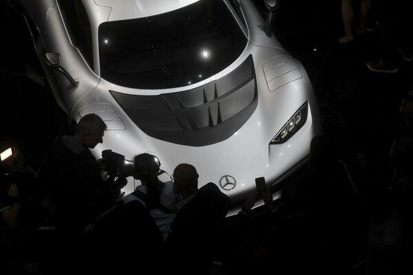 Daimler AG Media Night Ahead Of The IAA Frankfurt Automobile Show