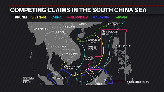 China Expands Fleet in Disputed Sea Despite Manila's Protest