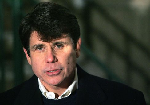 Ex-Illinois governor Rod Blagojevich